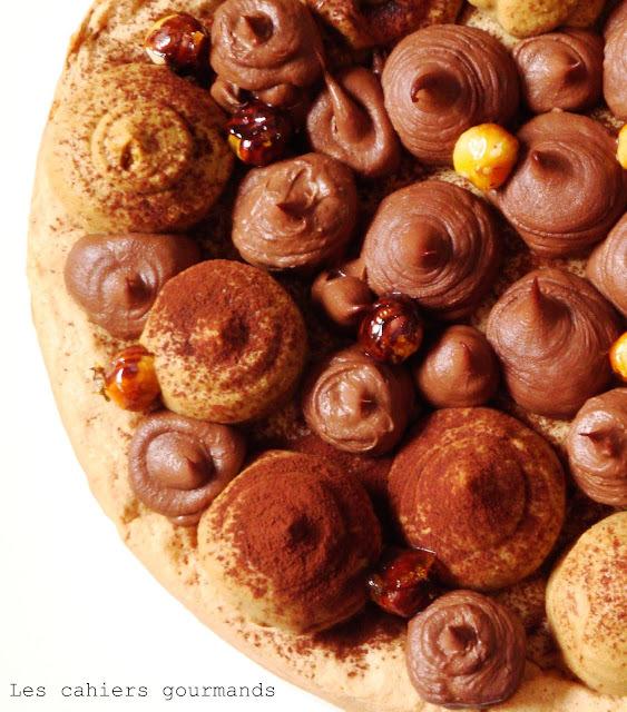 Gâteau chocolat - café - tonka d'inspiration fantastik