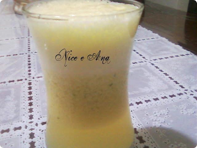 Suco de Maracujá com Hortelã