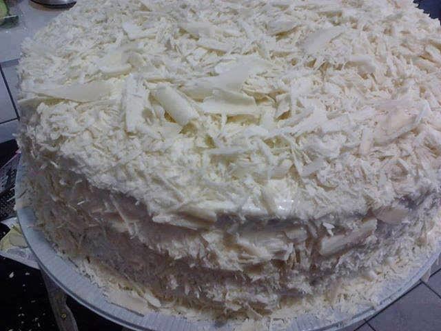Torta 4 leites deliciosa