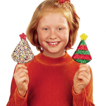 bolos decorados de natal com chantilly