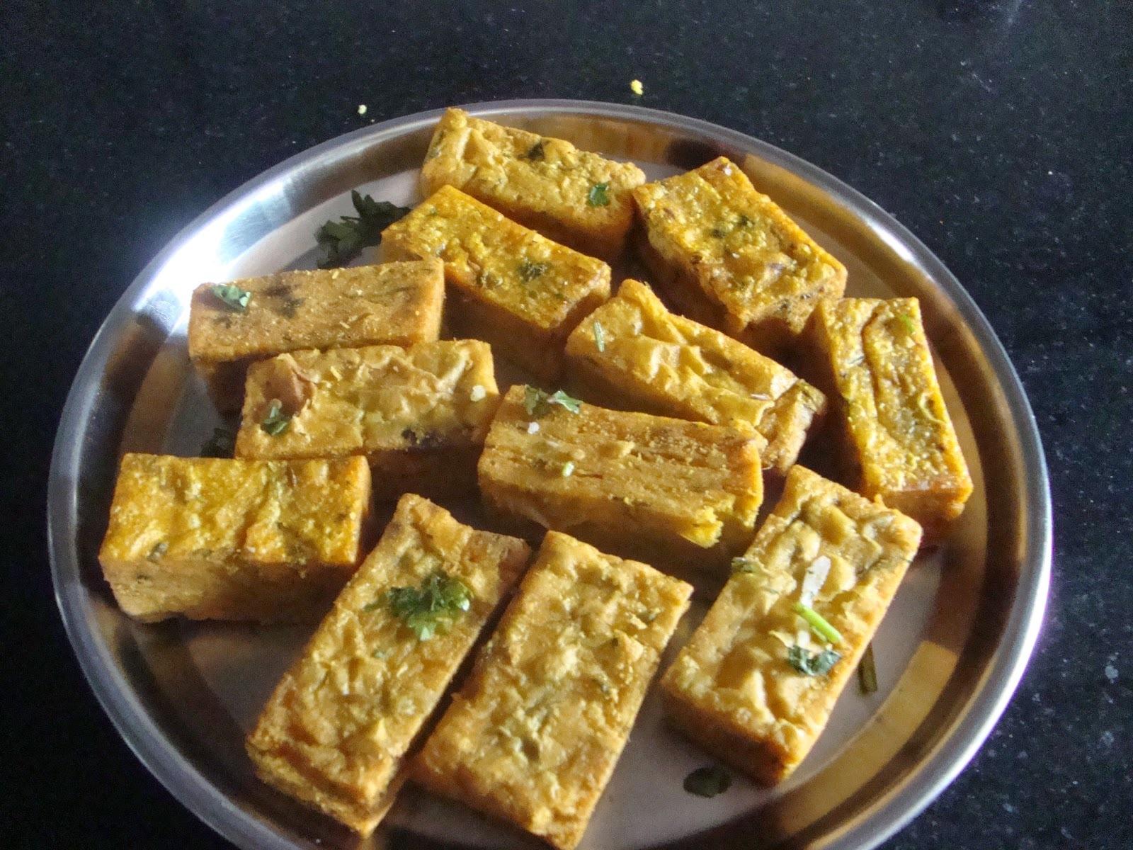 Kothimbir Vadi [Maharashtrian Dish]