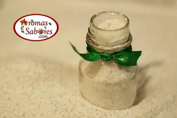 como fazer sal temperado com ervas para salada