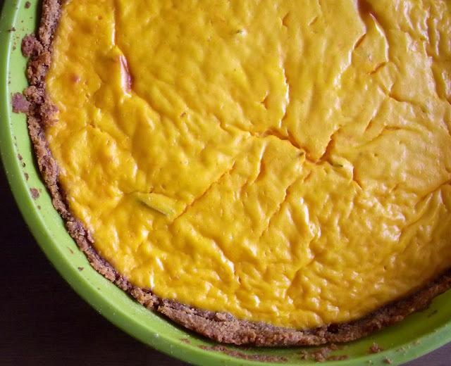 Torta leve de jerimum (ou abóbora)