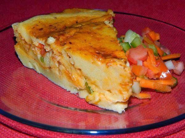 torta salgada com a mesma massa da torta de limaõ