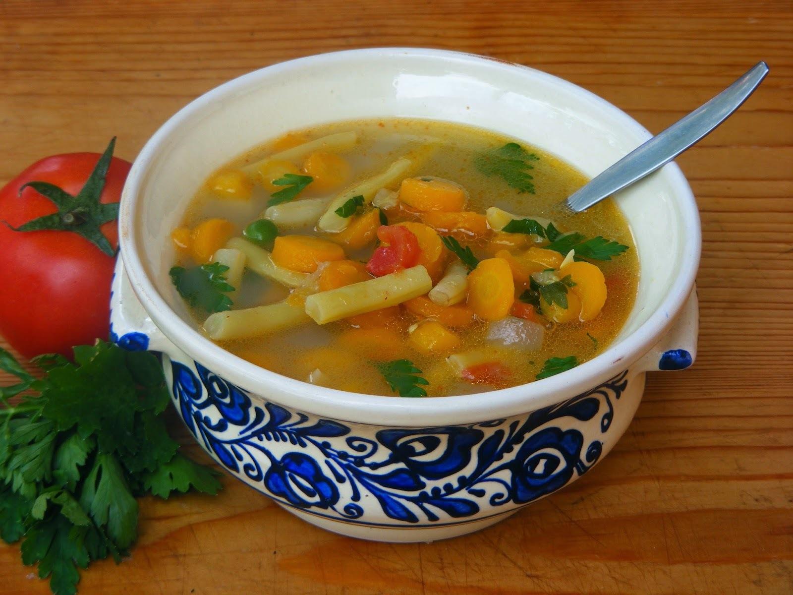 Kertészné nyári levese
