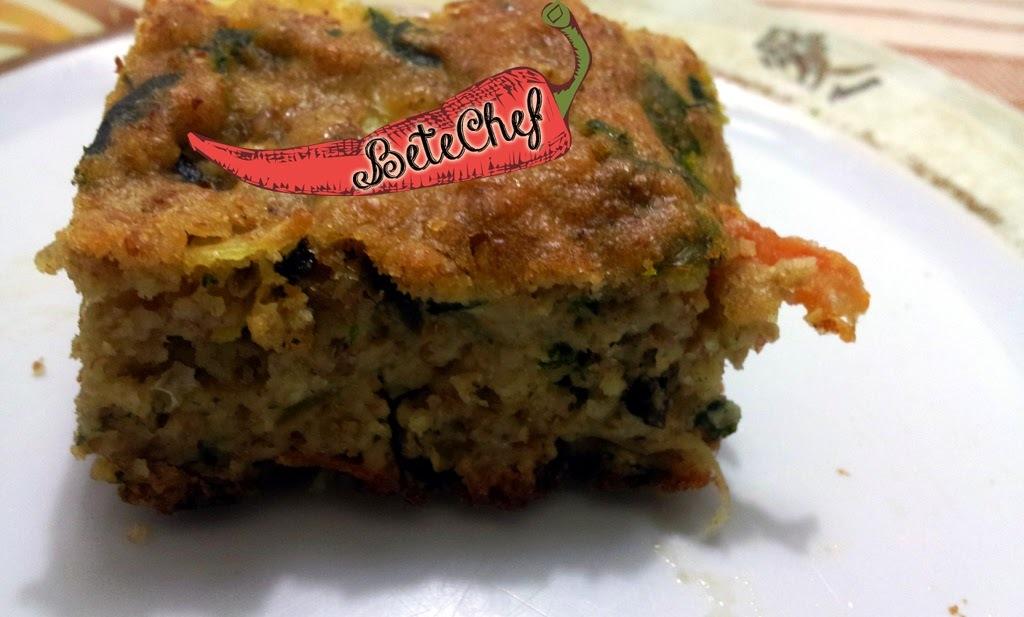 #Torta de Sobras de Arroz Integral Maravilhosa Por betechef