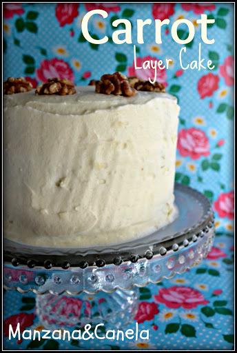 Carrot cake para un marido poco goloso