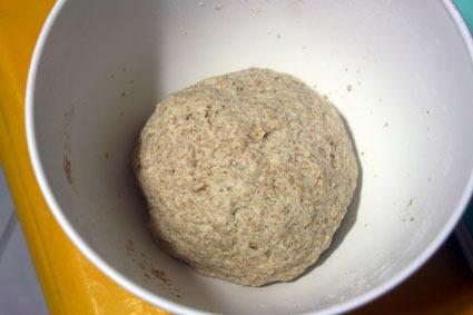 Receita do Olivier Anquier:  Pão com Gérmen de Trigo