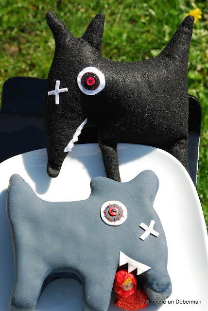 Un loup en gâteau 3D, même pas peur!