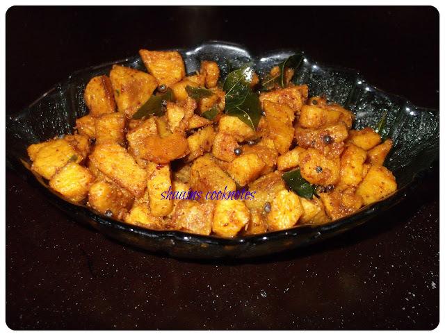 Easy Chena(Yam) Stir Fry