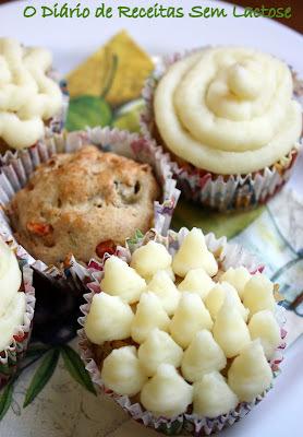 Cupcake Integral de Peito de Peru com Cobertura de Purê