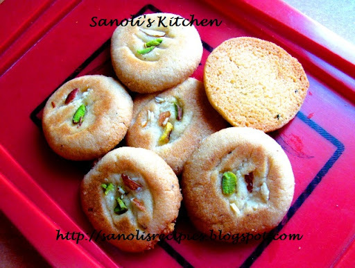 NAN KHATAI - AN EGGLESS COOKIE