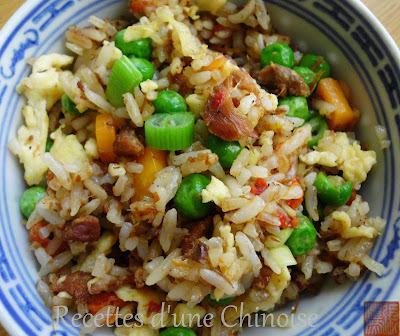 Riz sauté au canard 鸭肉炒饭