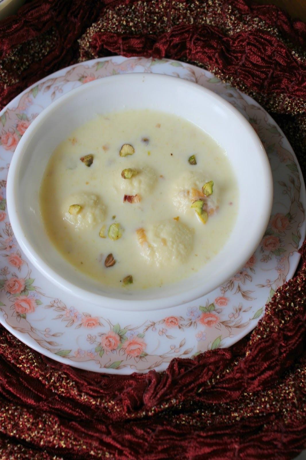 Rasmalai – Bengal special