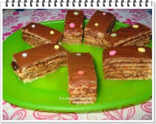 Csokis nápolyi /sütés nélkül
