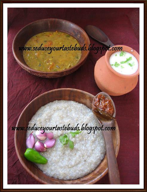 Kambu Saadham & Kambu Koolz | Bajra 'rice' & Porridge