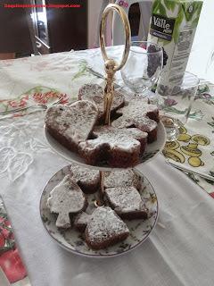 Bolo de Chocolate Francês.