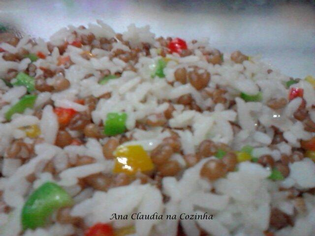 arroz carioca com cenoura