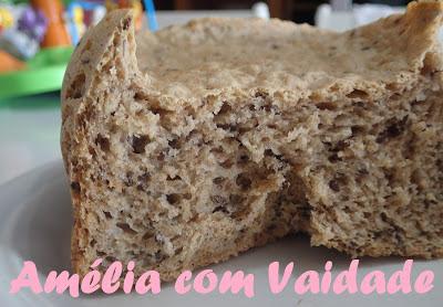 pão integral macio na maquina pao