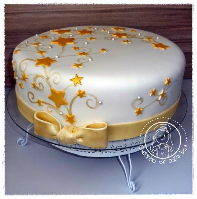 como fazer estrelas para bolo