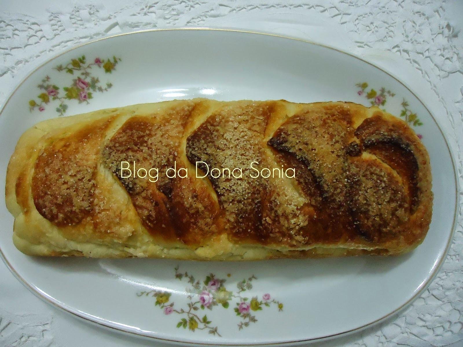 pão caseiro salgado