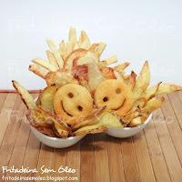 batata frita crocante por fora e macia por dentro