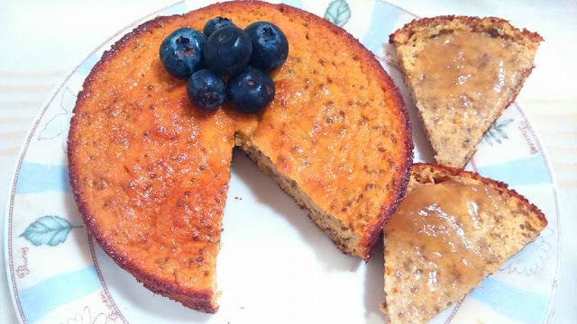 Tortita clean de mandarina A la Paula