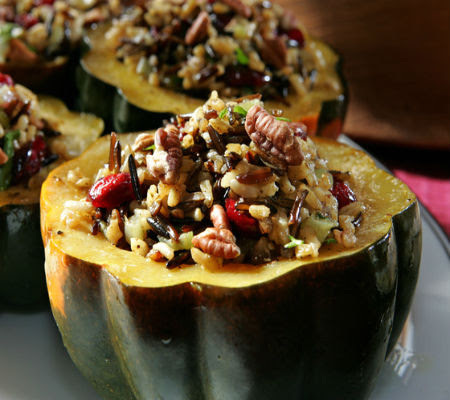 Main Course Vegetarian Stuffed Squash