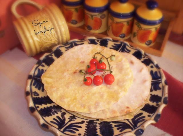 tortilla szósz házilag