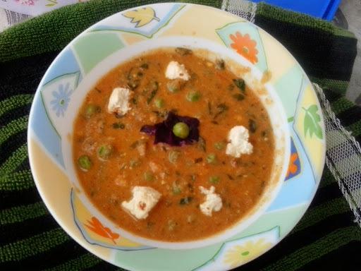 Methi Matar Masala |restaurant style shahi methi matar masala