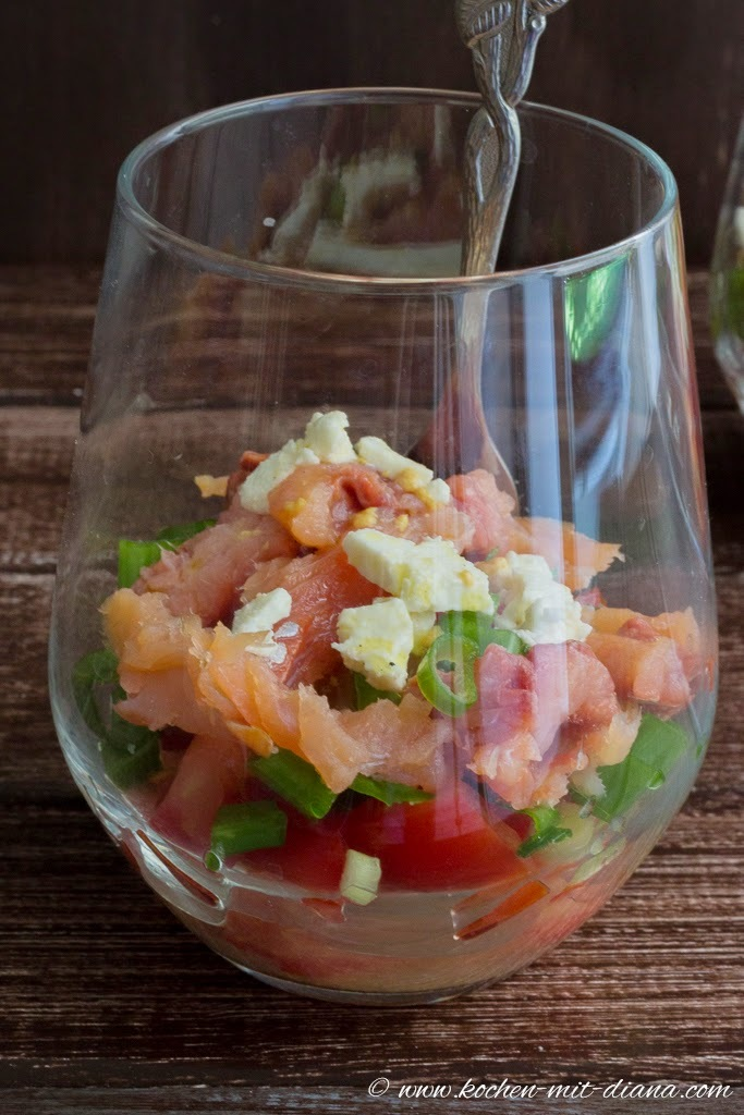 Hawaiianischer Lachssalat/ Hawaiian Salmon Salad