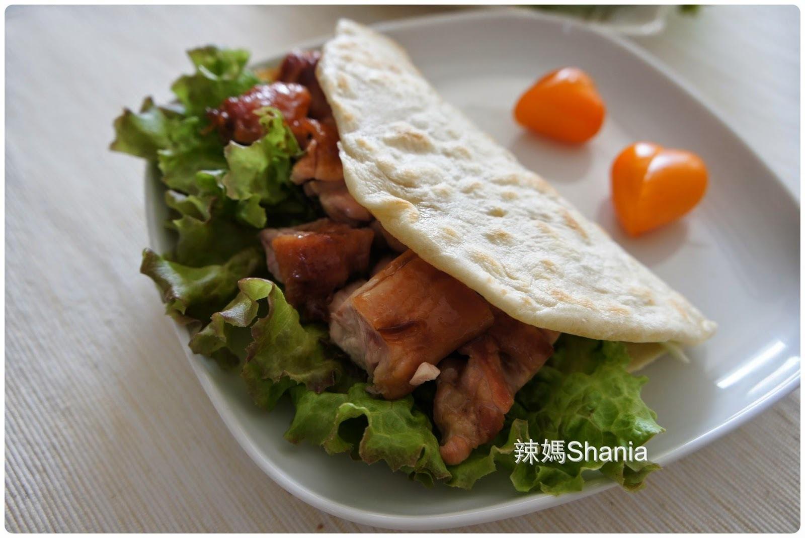 「麵包機」墨西哥照燒雞肉薄餅