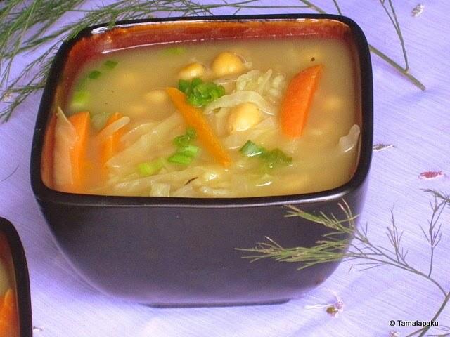 kabuli chana soup