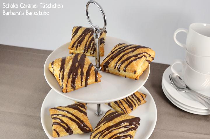 Schoko Caramel Täschchen