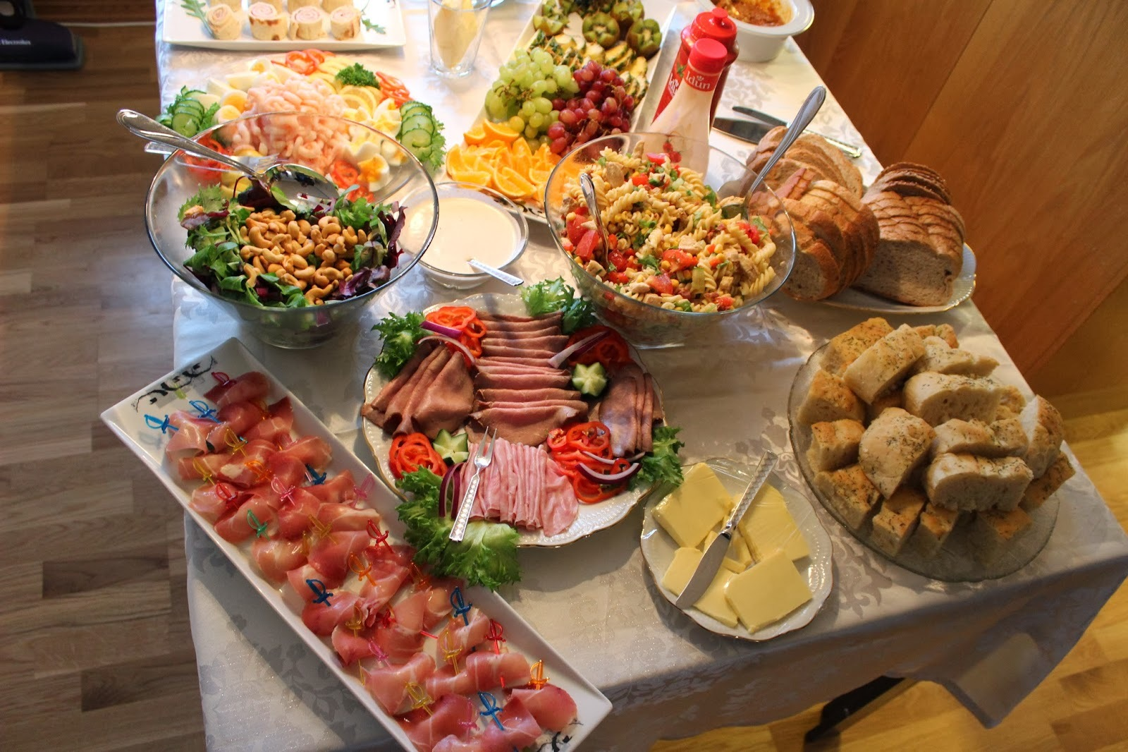 vegetarisk koldtbord