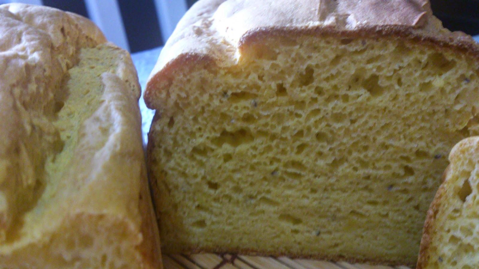Pão nutritivo de abóbora e chia