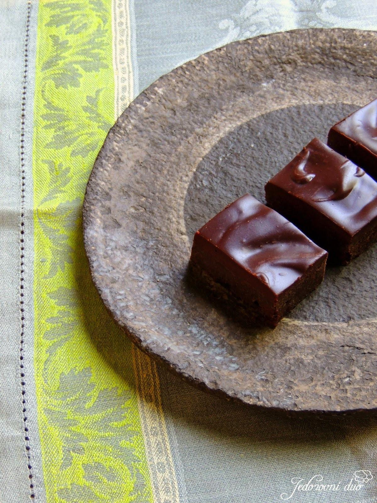 Čokoladne pločice s heljdinim brašnom