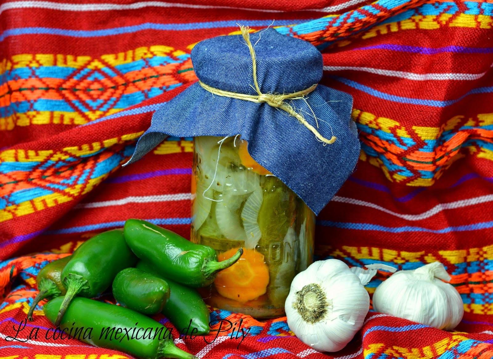 Chiles Jalapeños en Escabeche