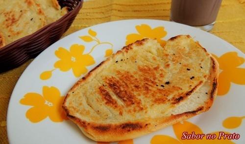 Pão na Chapa (ou melhor, na frigideira)