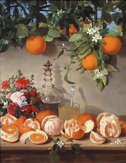 Taronja a la taronja i melmelada de taronja