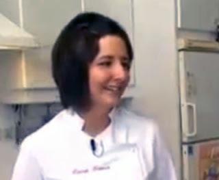 Menú vegetariano de la chef María Gómez García