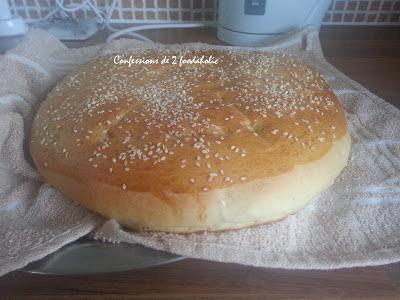 Khobz dar (pain maison): version semoule et farine