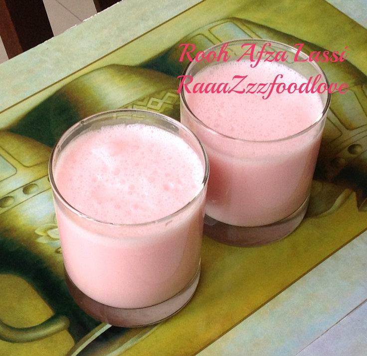 Rooh Afza Lassi
