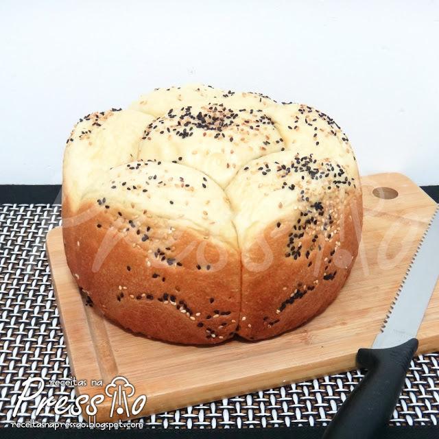 Pão Caseiro na Pressão