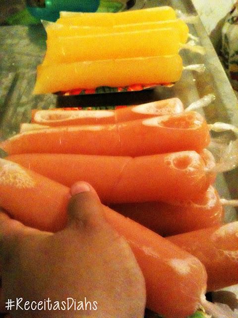 mistura de sabores para sacole