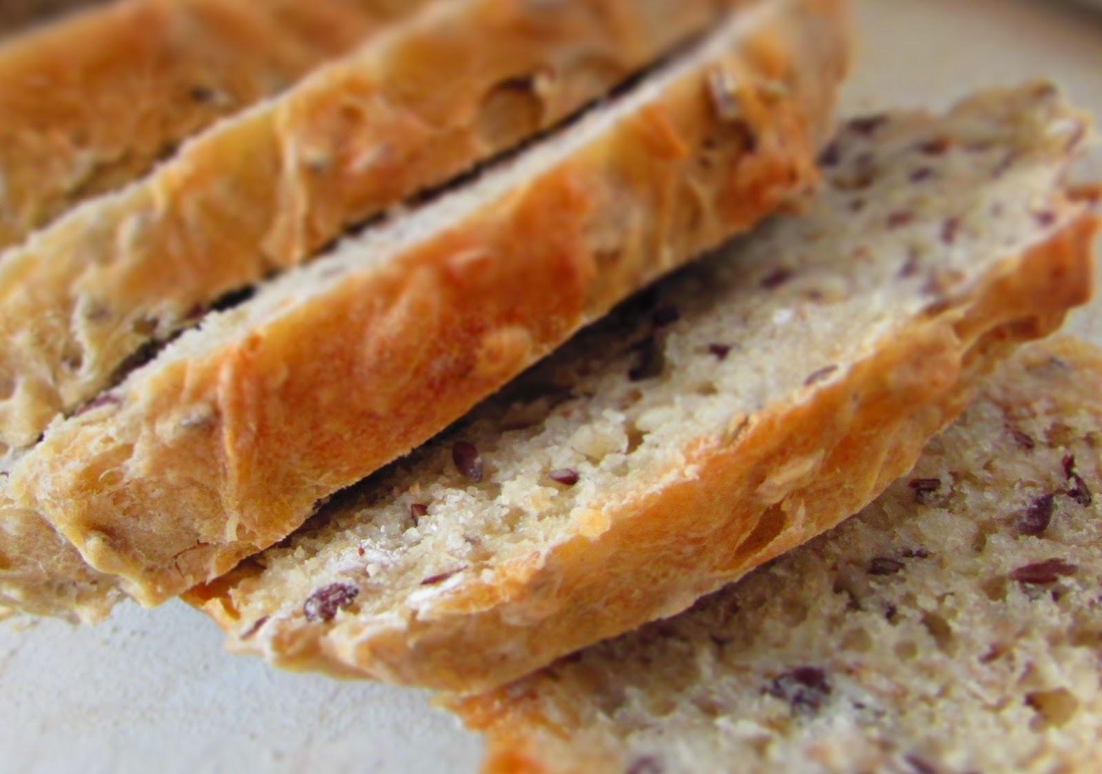 Pão caseiro sem ovos, leite ou colesterol