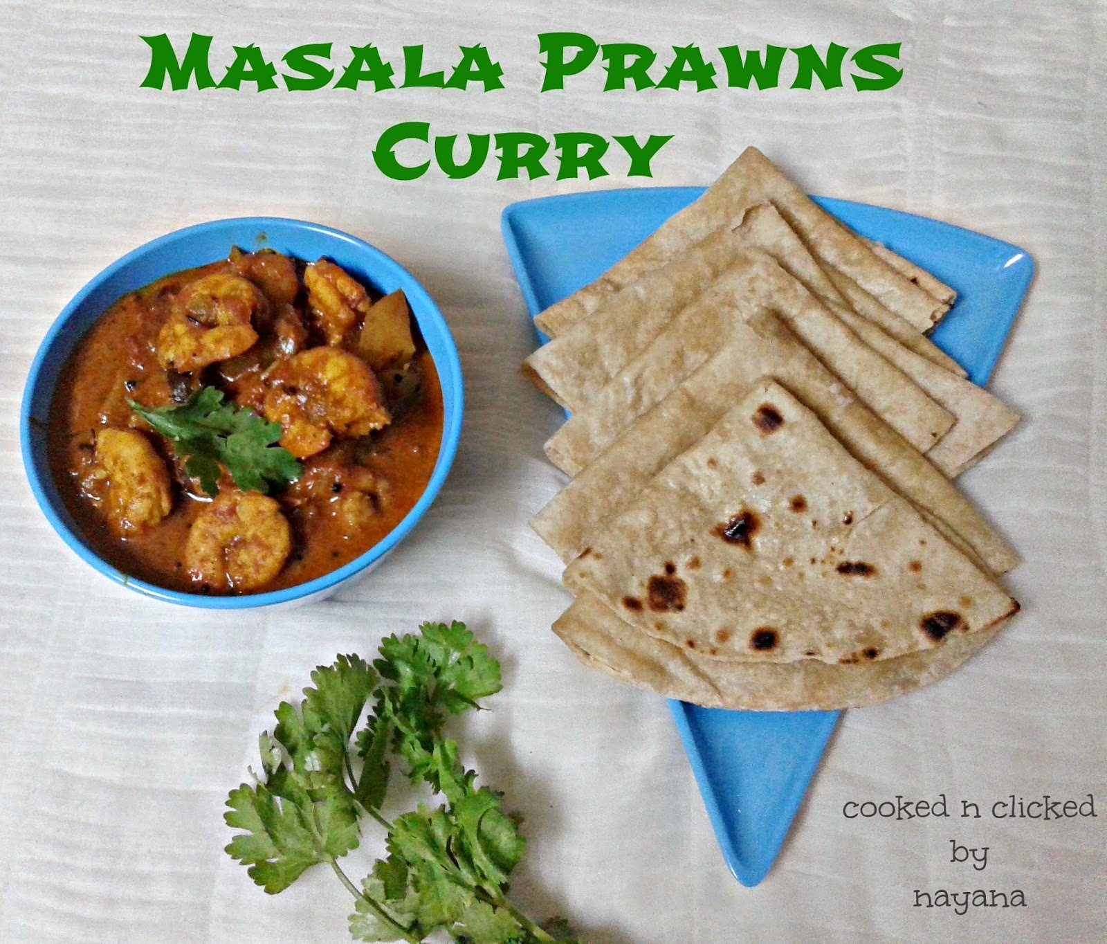 Masala Prawns Curry