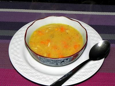 Sopa Caipira (Sopa de Milho com Frango)