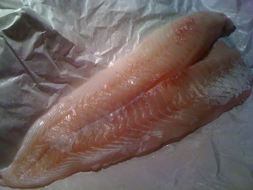 fisk med asparges