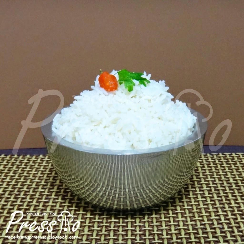 arroz branco para 10 pessoas